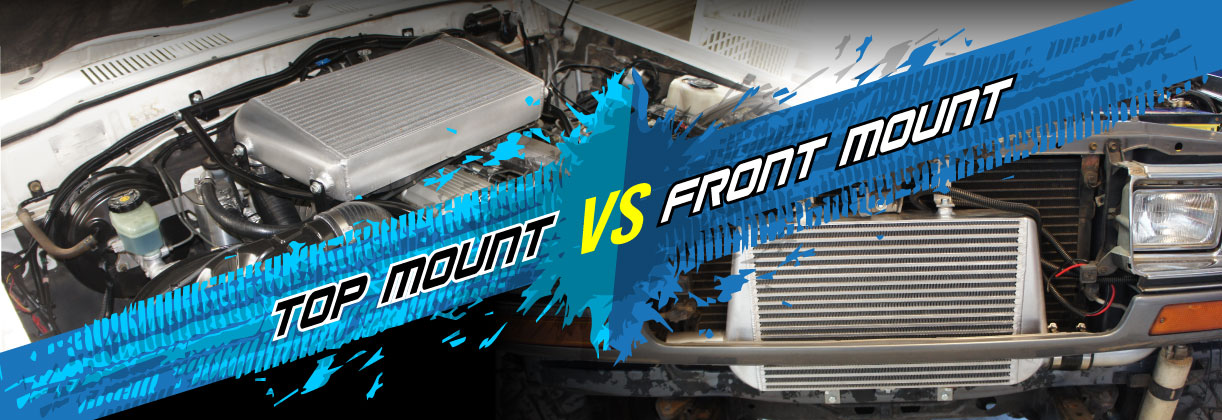 Top Mount Vs Front Mount Intercoolers - Epic Battle
