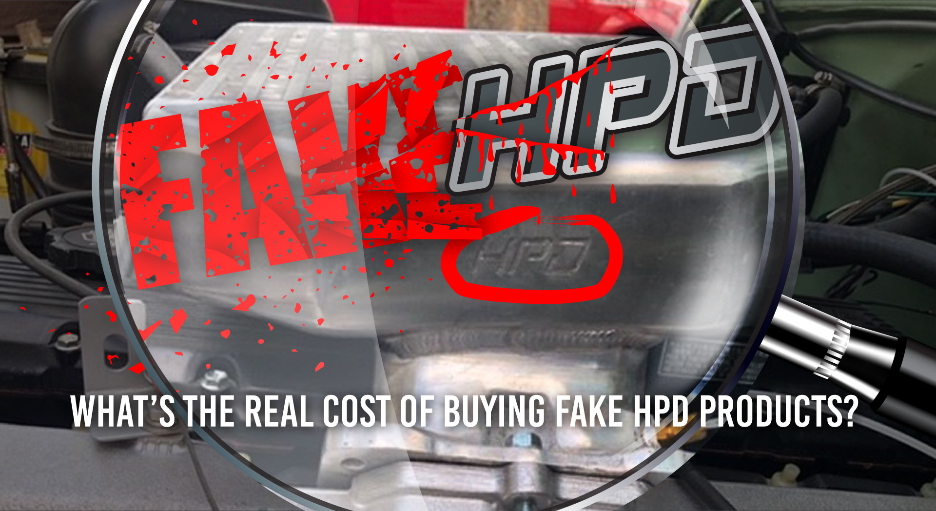 What is the real cost of fake HPD products?