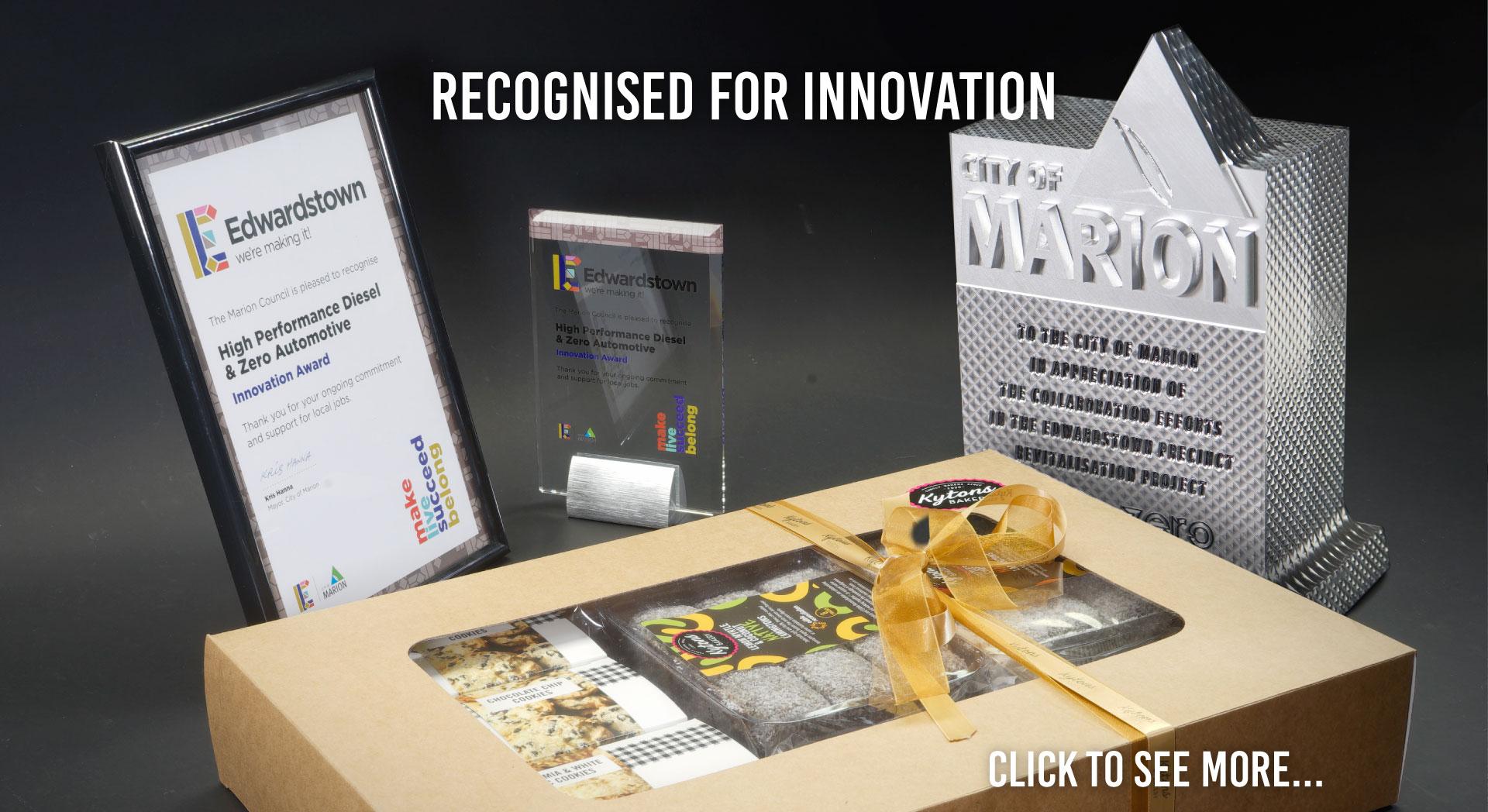 David Mitchell Receives Innovation Award