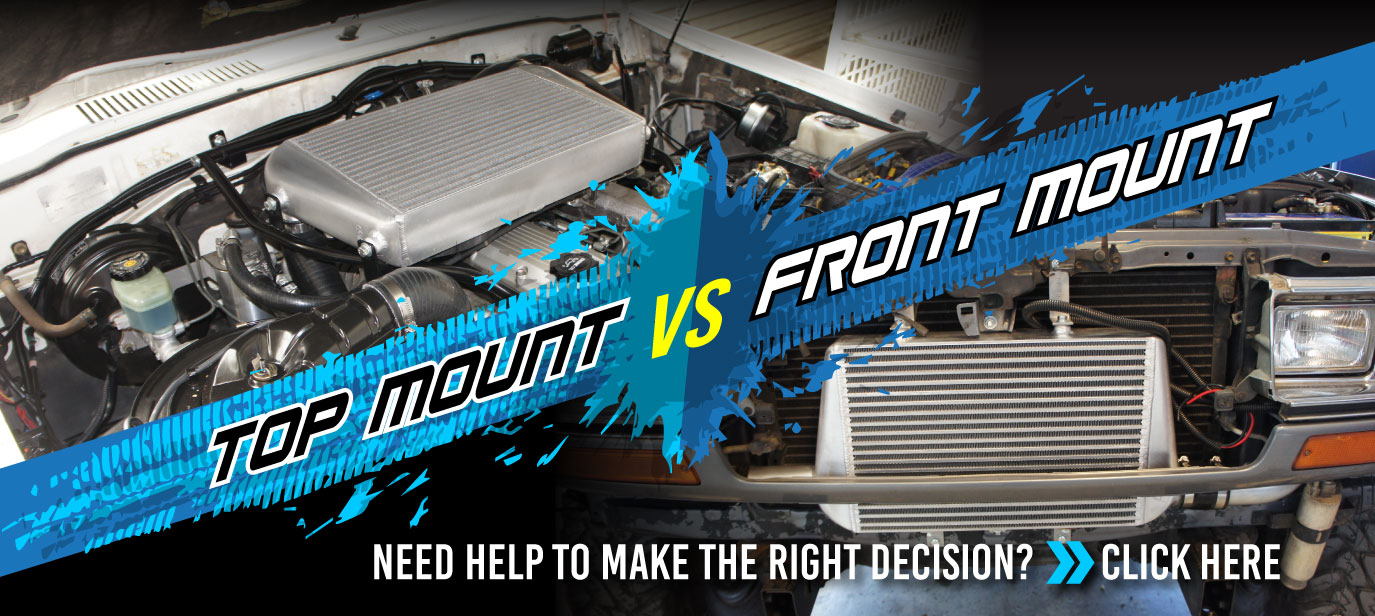 What you need to know when choosing top mount intercooler or front mount intercooler