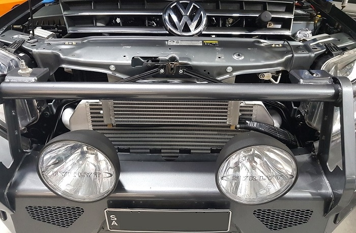 Amarok intercooler fitted