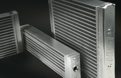 HPD high durability superior quality bar and plate oil coolers
